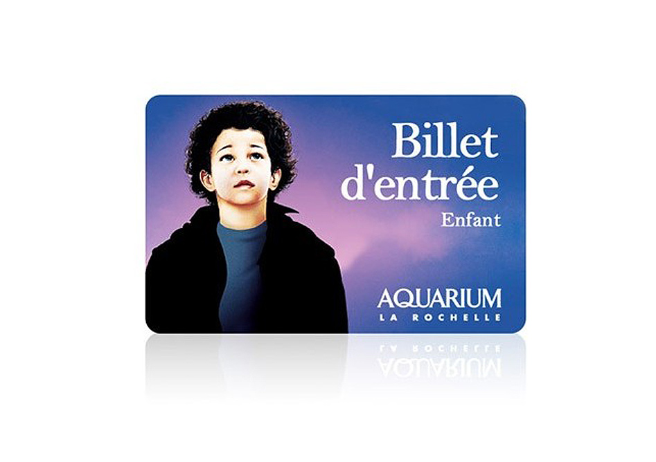 E-billet Aquarium La Rochelle enfant