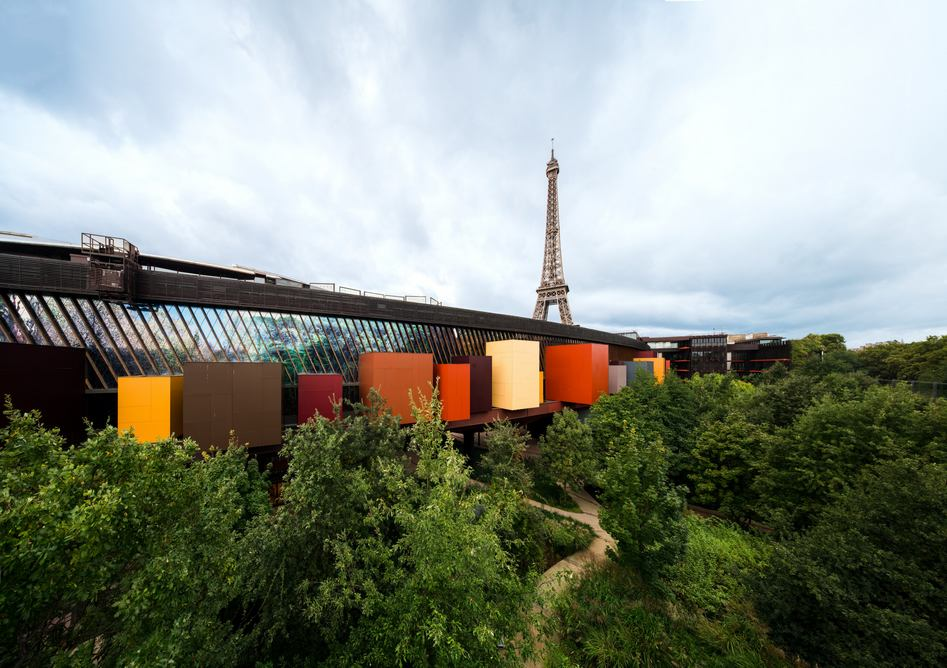 Billet musée Quai Branly - Jacques Chirac