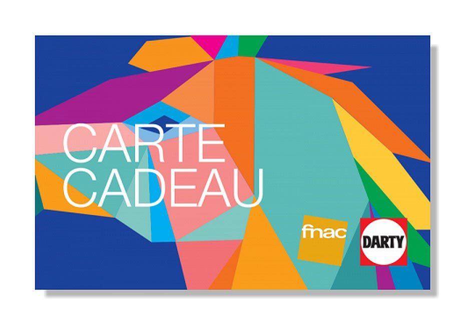 E-Carte cadeau Fnac Darty de 100 €