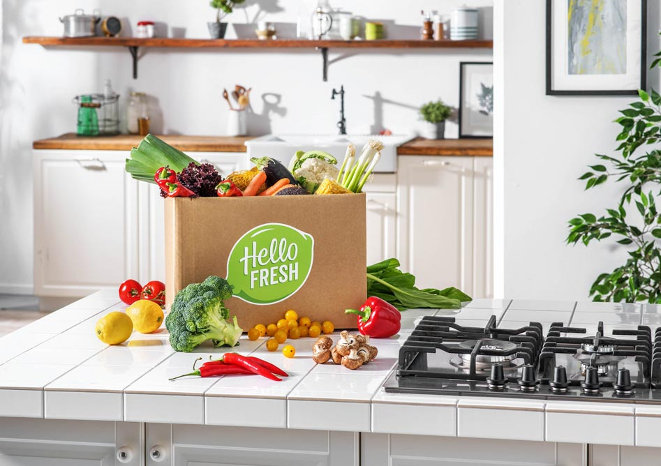 HelloFresh box repas