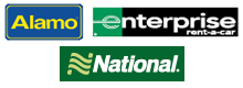 Enterprise®, Alamo®, National®